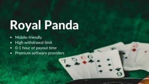 Best Online Casinos #2: Royal Panda